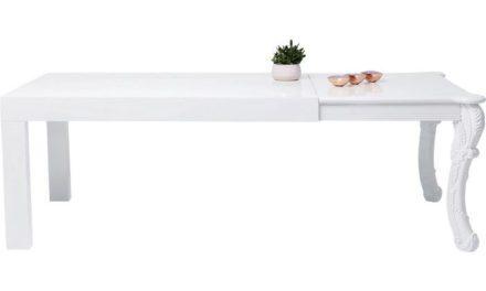 KARE DESIGN Spisebord Janus All Hvid 220 x 90 cm