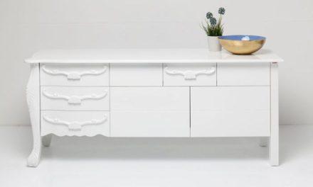 Kare Design Janus All White Skænk i flot træ