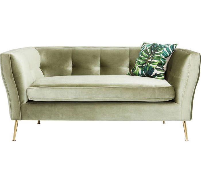 KARE DESIGN Sofa Rimini Grøn 2-Personers 160 cm