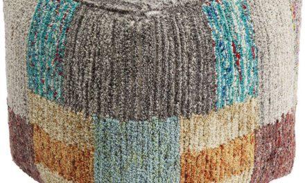 KARE DESIGN Puf, Color Fields 45 x 45 cm