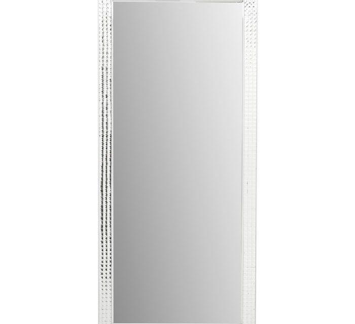 KARE DESIGN Vægspejl Crystals Steel Chrome 180 x 80 cm