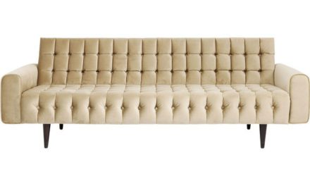 KARE DESIGN Sofa, Milchbar Goldy 3-personers