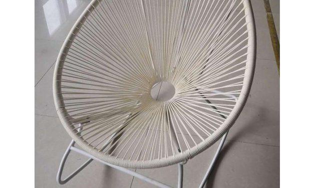 KARE DESIGN Gyngestol Spaghetti Hvid