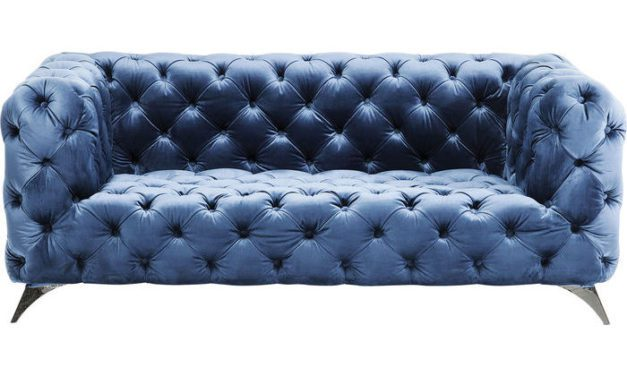 KARE DESIGN Sofa Look Royal Blå 180 cm