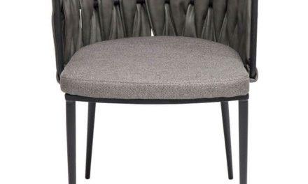 KARE DESIGN Spisebordsstol med armlæn Cheerio incl. pude