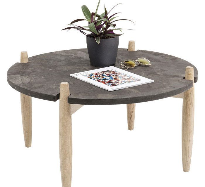 KARE DESIGN Sofabord Wilderness Ø80 cm