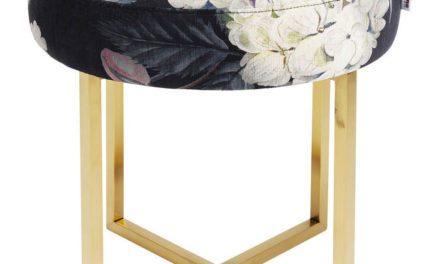 KARE DESIGN Taburet, Bold Ø48 cm