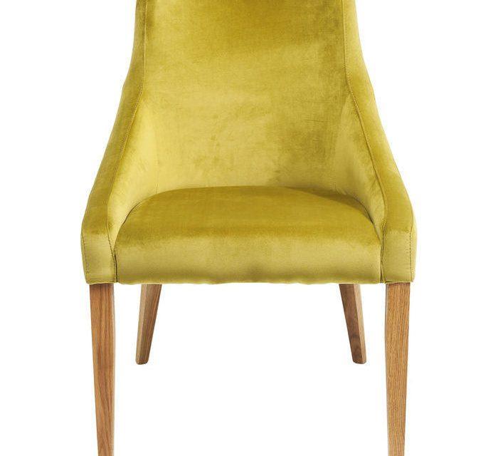 KARE DESIGN Stol, Mode Velvet Grøn