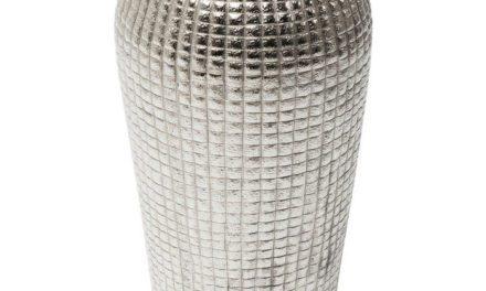 KARE DESIGN Vase Cubes Alu 56 cm