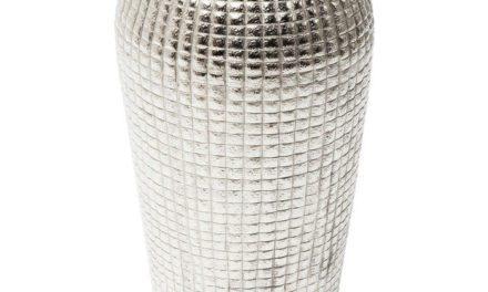 KARE DESIGN Vase Cubes Alu 42 cm