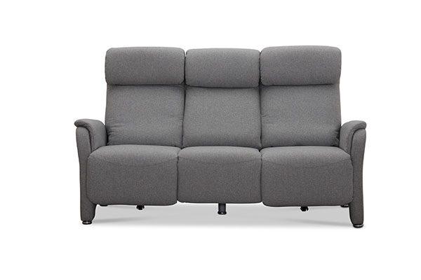 Lexington 3 personers Recliner Biograf sofa, grå stof