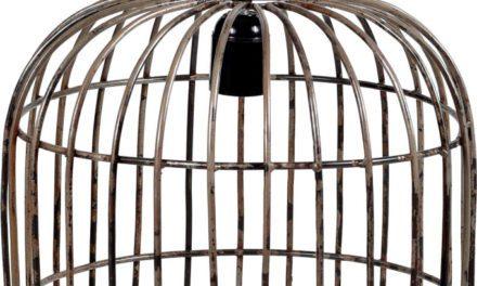 TRADEMARK LIVING stor loftslampe i jern