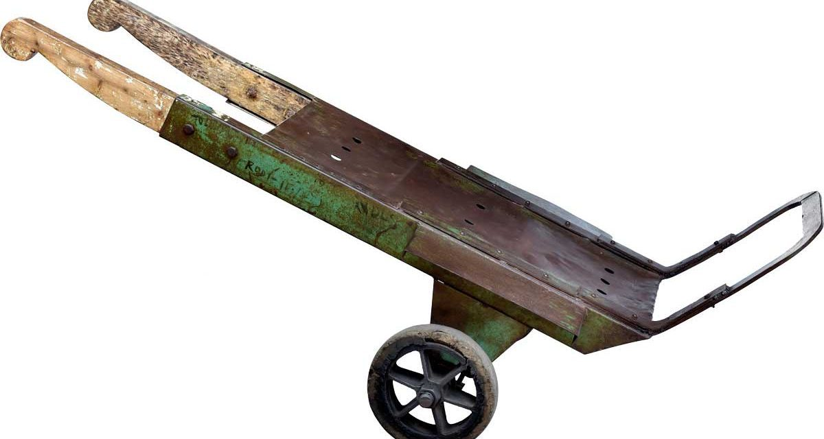 TRADEMARK LIVING Rustik gammel sækkevogn