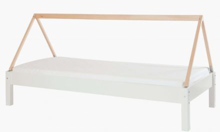 MANIS-H Husseng – hvid m. bøgestel (200×90)