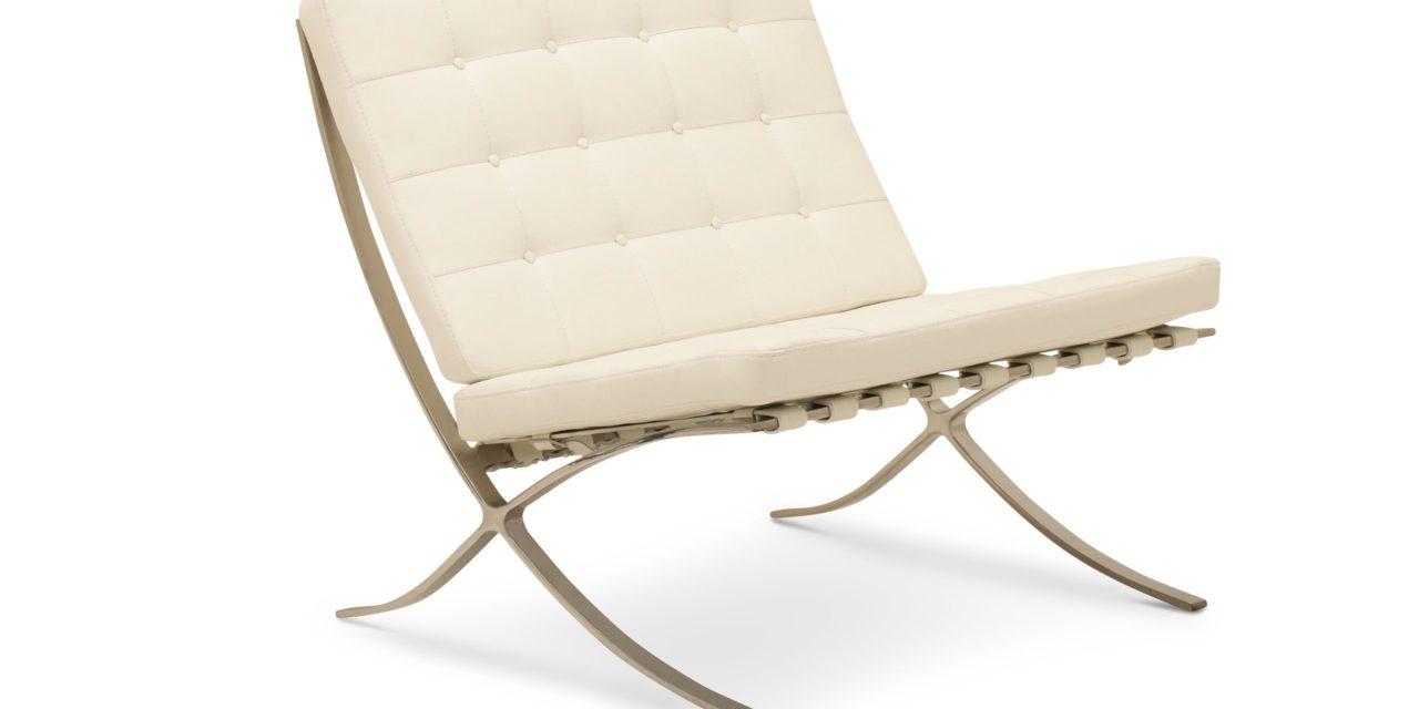 HAGA Madrid stol – hvid læder