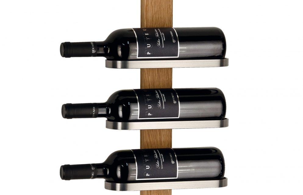 FURBO Mazzi – vinreol til 3 flasker Eg