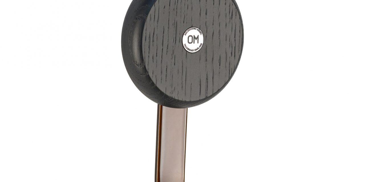 FURBO Ewo – krog i rustlook stål og træ Sortbejdset eg