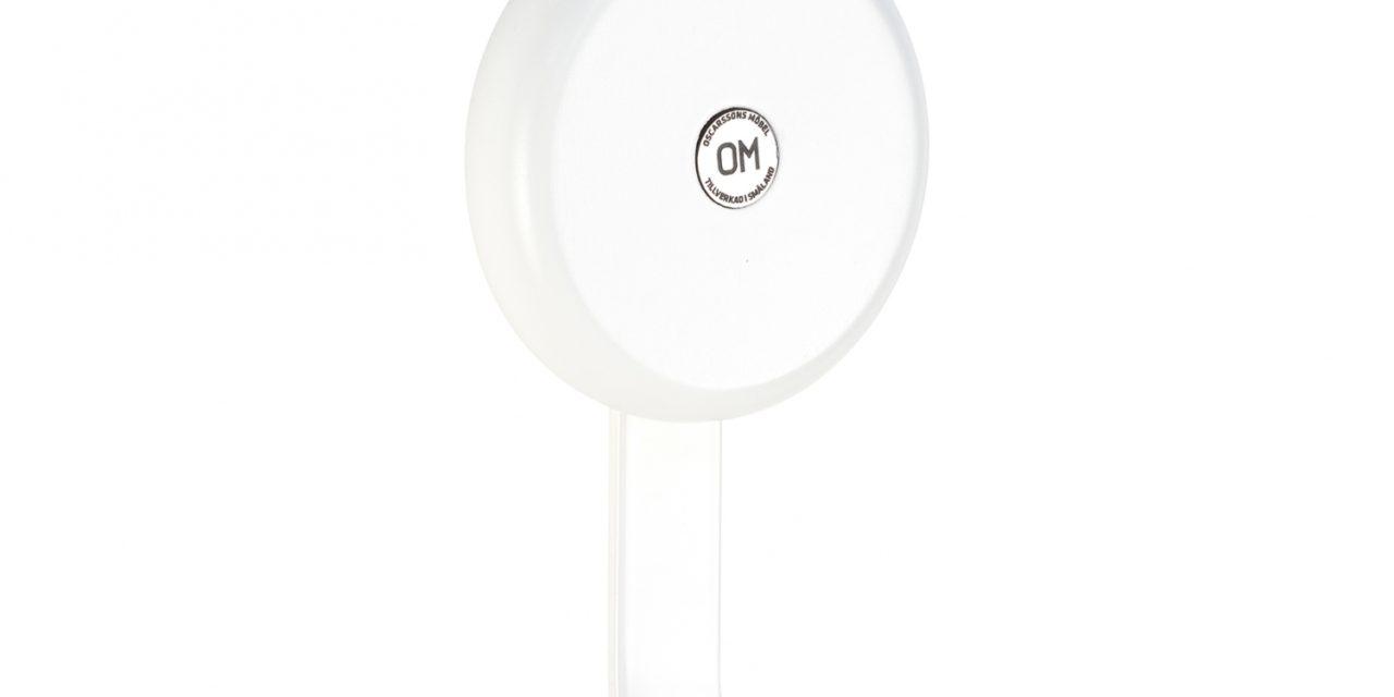 FURBO Ewo – krog i hvidt stål og træ Hvid lak – birk