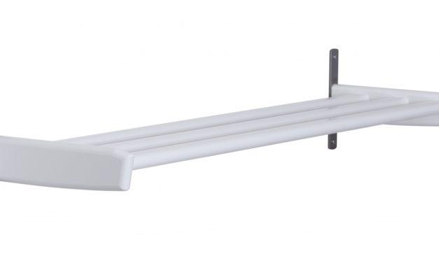 FURBO Meja – skohylde, 90 cm. Hvid