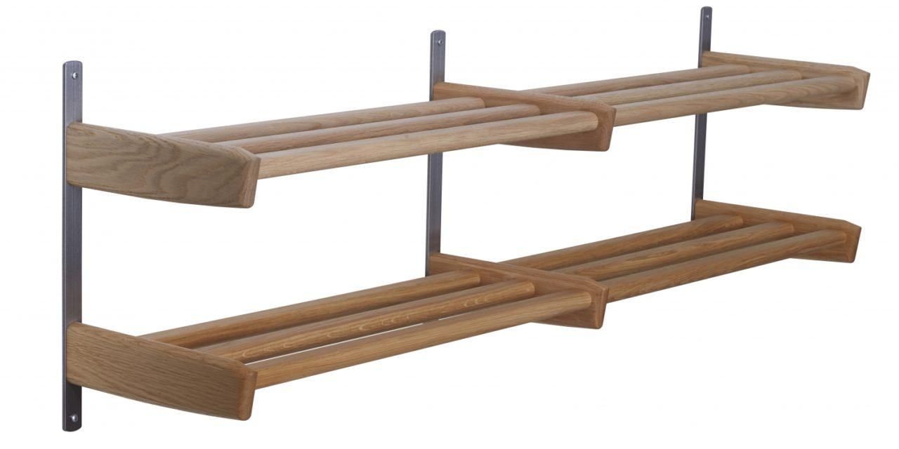 FURBO Meja – dobbelt skohylde, 115 cm.