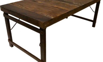 TRADEMARK LIVING Skønt gammelt spisebord