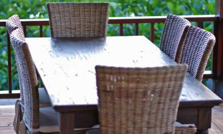 """NOVASOLO """"Hygge"""" spisebord teaktræ (240×100)"""