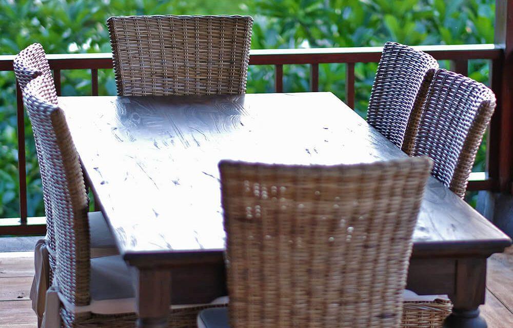 """NOVASOLO """"Hygge"""" spisebord teaktræ (260×100)"""