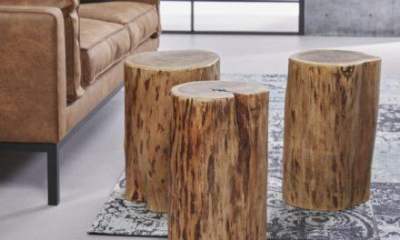 FURBO Tre sofaborde, ø 35 cm