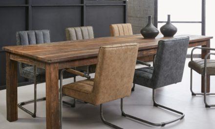 FURBO Spisebord, genbrugstræ, 90 x 260 cm