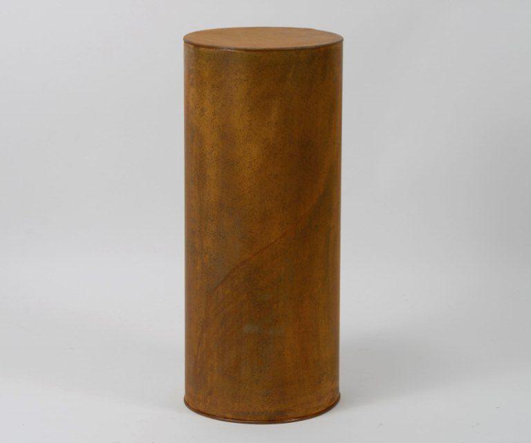 FURBO Blomsterstander, rust metal, højde 75 cm