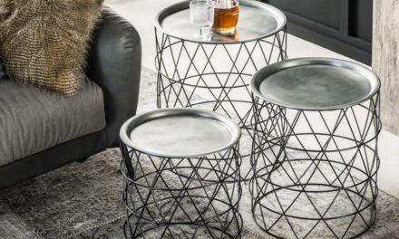 Furbo bakkebord sæt i flot sort metal