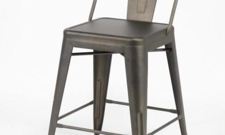 FURBO Barstol, industriel design, stål