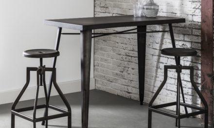 FURBO Barbord, industriel design, stål
