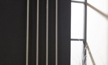FURBO Knagerække, børstet stål, 4 kroge, 36 cm