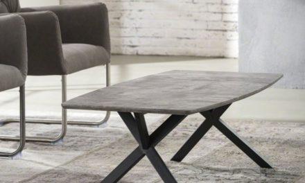 FURBO Sofabord, beton look, 120 x 60 cm