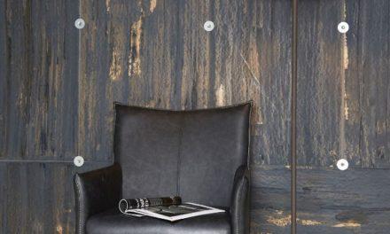 FURBO Gulvlampe, metal, brun skærm