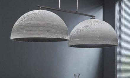 FURBO Loftslampe, hvid skærm
