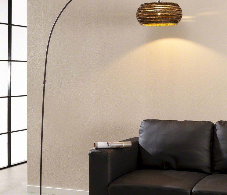 FURBO Gulvlampe, brun skærm