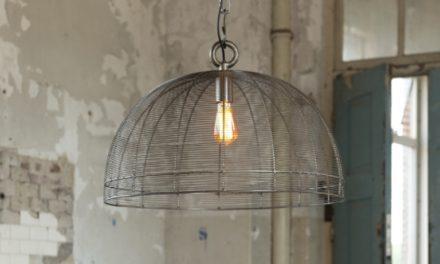 FURBO Loftslampe, tråd design, sort nikkel