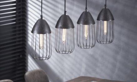 FURBO Loftslampe, sort nikkel