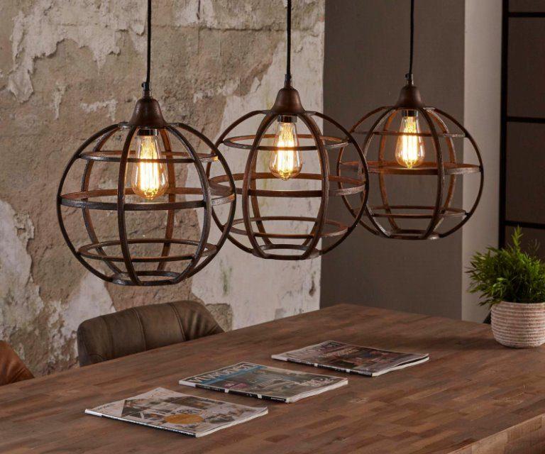 FURBO Loftslampe, antik bronze