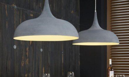 FURBO Loftslampe, 2 ø 50 cm skærme, grå metal