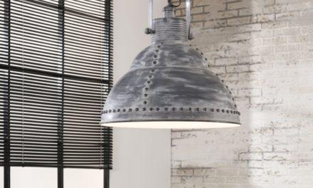 FURBO Loftslampe ø 51 cm, industri design