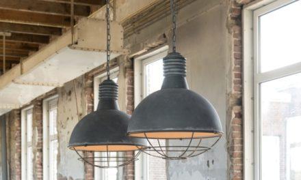 FURBO Loftslamper, 2 x ø 41 cm, industri design