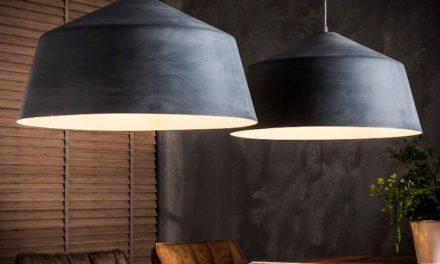 FURBO Loftslampe, 2 x ø 55 cm, grå beton look