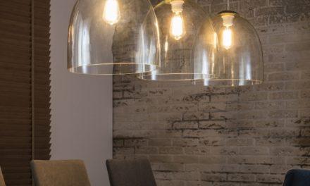 FURBO Loftslampe, 3 x ø 55 cm, glas