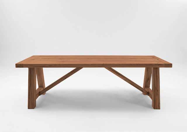 BODAHL Nantes plankebord – Old bassano 280 x 110 cm