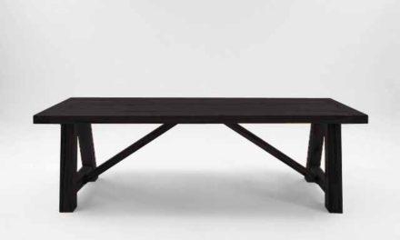 BODAHL Nantes plankebord – Mocca black 220 x 110 cm