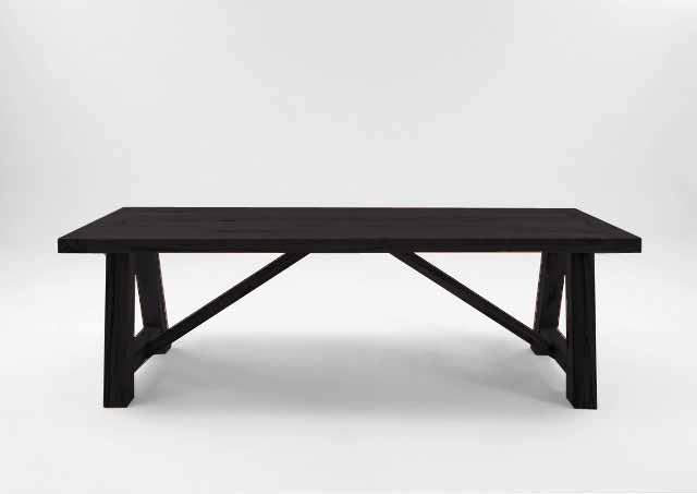 BODAHL Nantes plankebord – Mocca black 200 x 100 cm