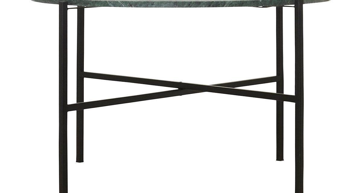 The Green rundt bakkebord i jern og marmor fra House Doctor til din bolig